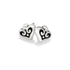 For the mom who appreciates some sparkle. Brighton Alcazar Mini Post Earrings