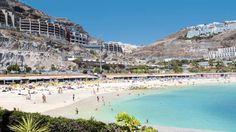 Playa de Amadores, Canary Islands, Spain