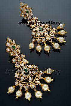 Pachi Work Earrings by Sitara