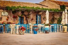 Don't have a boring Sicily Vacation! Plan a Sicily 5 Day Itinerary with beaches, cities, ruins and volcanoes- an exciting 5 Days in Sicily! Sicily Tours, Sicily Travel, Italian Cafe, Restaurant Exterior, Villa, Vacation Planner, Learning Italian, Travel Design, Messina