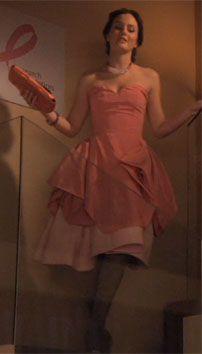"""""""Petty in Pink"""" episode 19, season 4.  Blair in Oscar De La Renta"""