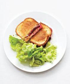Beet, Sauerkraut, and Swiss Reuben Sandwiches