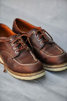 Red Wing Moc Toe Oxfords