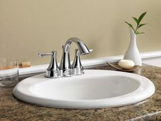 From basic drop-in sinks to beautiful vessel sinks, explore bathroom sink options for every budget.