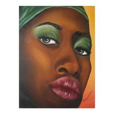 NOVICA Bahia Woman Original Oil Painting ($305) ❤ liked on Polyvore featuring home, home decor, wall art, paintings, realist paintings, acrylic painting, novica, african paintings, novica paintings and acrylic wall art