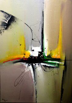 Couleurs utilisées: Blanc, beige, rouge, vert, jaune, noir   Peinture acrylique 92/65 cm. Ne nécessite aucun encadrement Vernis de finition (inodore ) Vendu avec Certificat  - 19378476