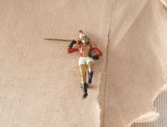 1940s Pin / Majorette Brass Brooch / 40s by wildfellhallvintage, $20.00