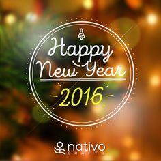 May this year bring you tons of laughter, a wealth of health and the most colorful experiences! Happy New Year 2016! | ¡Que este año les traiga muchas risas, riqueza en salud y las experiencias más coloridas! ¡Feliz Año Nuevo 2016!