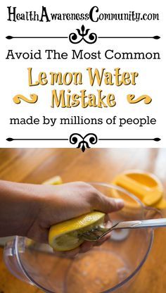 Learn how to make lemon water and its health benefits!