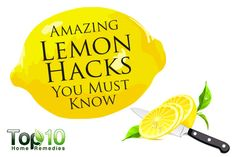 10 Amazing Lemon Hacks You Must Know Natural Cures, Natural Healing, Honey Lemon Water, Top 10 Home Remedies, How To Cure Depression, Lemon Benefits, Alternative Medicine, Health Tips, The Cure
