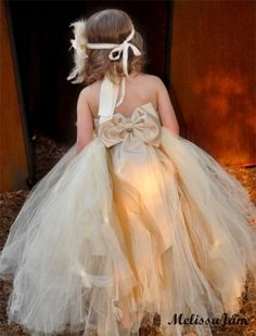 Fantastical flower girl dress by staci