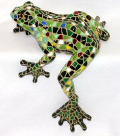 Frog with Leg Dangling