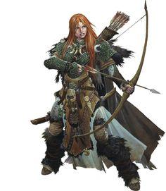 Jeu : Pathfinder / Chasseur   /  http://www.pathfinder-fr.org/Wiki/Pathfinder-RPG.Classes.ashx