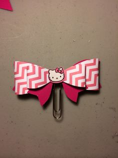 Big Paperclip Planner Bow hello kitty