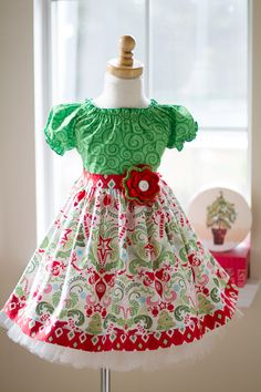 Kinder Kouture - Girls Noelle Peasant Dress, $58.00 (http://www.kinderkoutureclothing.com/girls-noelle-peasant-dress/)