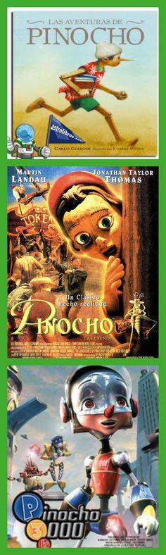 """""""PINOCHO"""" Historia de una marioneta de madera, cuyo egoísmo y mal comportamiento la lleva a padecer numerosas desventuras. Al final de la historia, el muñeco cambia su comportamiento para lograr el sueño de convertirse en un ser humano."""