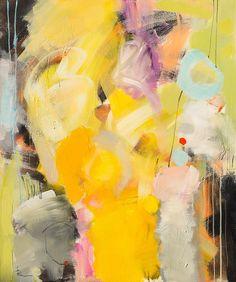 Abstrakt NON-figurativt maleri av Ira Ivanova og Youri Ivanov