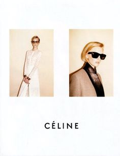 For appreciators of minimalism, Celine, period of Chloe, and the person behind all the magic - Phoebe Philo. Juergen Teller, Fashion Advertising, Advertising Campaign, Celine Campaign, Lookbook Layout, Phoebe Philo, Forever, Poses, Editorial Fashion