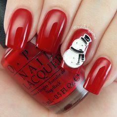 . Christmas Nail Art Designs, Christmas Nails, Nail Polish, Finger Nails, Ongles, Nail Polishes, Christmas Manicure, Polish, Xmas Nails