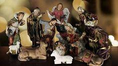 """WL-NATIVITY-48, 48"""", 11 piece 48"""" Real Life Nativity"""