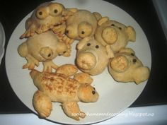 Bread shape animals