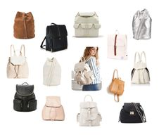 I found the cutest backpacks that are so IN for this spring!!!
