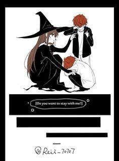 mystic messenger choi twins mc saeyoung choi saeran choi witch au i love this! precious little tomatoes aaahh Mystic Messenger Characters, Mystic Messenger Fanart, Mystic Messenger Memes, Manga Anime, Anime Chibi, Manga Art, Anime Art, Pixiv Fantasia, Character Art