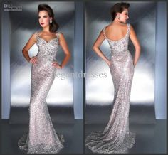 Wholesale Pageant Dresses - Buy Custom Made Miss 2014 Stunning Mermaid Beaded Straps Evening Dresses with Full Length Pageant Dresses Mac 78709, $189.0 | DHgate