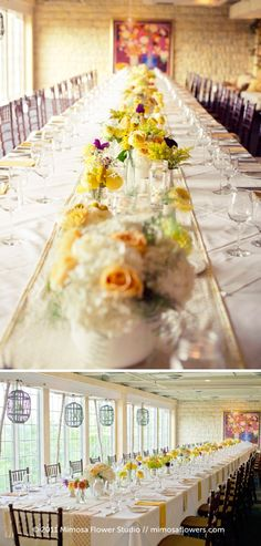 Inn on the Twenty Anthropologie inspired wedding reception
