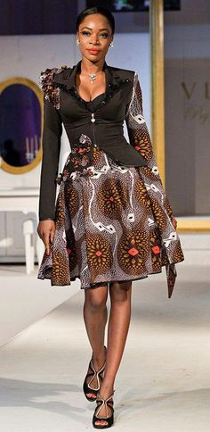 Africa Fashion Look African Dresses For Women, African Print Dresses, African Attire, African Wear, African Women, African Prints, African Outfits, African Style, African Fabric