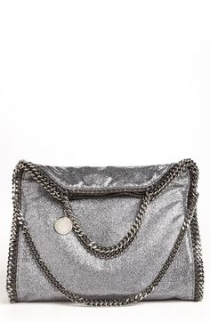 cd18f84581 Stella McCartney  Falabella  Metallic Foldover Tote available at  Nordstrom Stella  Mccartney Bag Falabella