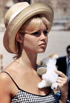 Channel 60s Brigitte Bardot Vibes In A Cute Sun Hat | ASOS