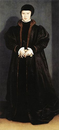 Christina of Denmark, Duchess of Milan by Hans Holbein the Younger.