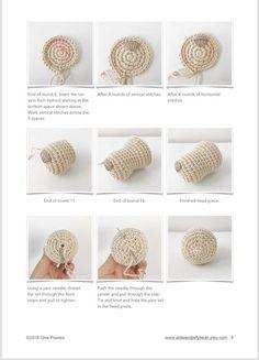 Amigurumi pattern tutorial english amigurumi spaniel dog sophie the spaniel puppy pdf us terminology 8 Tips For Crochet Beginners - Salvabrani Crochet Patterns Amigurumi, Amigurumi Doll, Crochet Dolls, Yarn Dolls, Crochet Abbreviations, Crochet Bunny, Sewing Toys, Sewing Basics, Crochet For Beginners