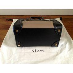 Bag Céline  celine luggage Celine Handbags, Celine Luggage, Replica Handbags, Suitcase, Briefcase