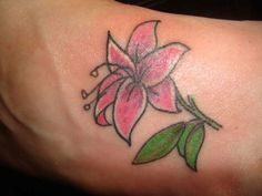 flower-small-tattoo-ideas-design-on-foot ~ http://heledis.com/having-small-tattoo-ideas-on-the-internet/