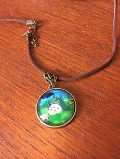My neighbour Totoro pendant necklace by GiftoftheGeek on Etsy