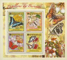 BUR 14105 cButterflies Butterflies, Decoupage, Stamps, Frame, Home Decor, World, Seals, Picture Frame, Decoration Home