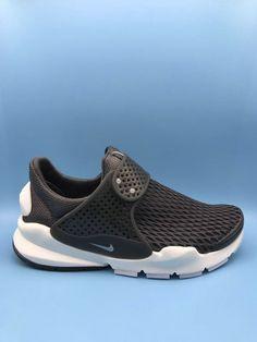 buy online e6994 793f2 Populaire Nike Sock Dart Breeze Summer 2017 Mesh Black Noir White blanc  896446 333 Youth Big