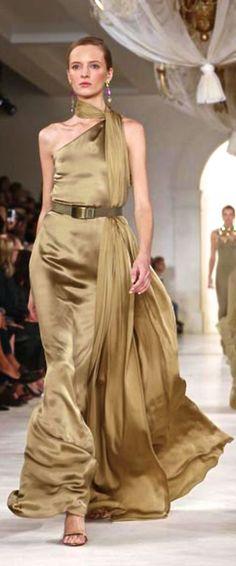 Ralph Lauren Fashion Show & More Luxury Details