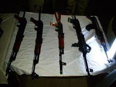 Latest urdu news - Weapons found near school in Rahim Yar Khan