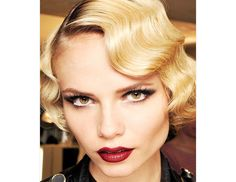 channel your inner flapper girl with wavy bob