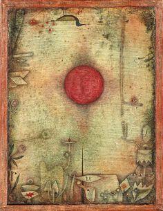 Paul Klee Ad Marginem 1930 Aquarell auf Lackgrundierung auf Karton auf Keilrahmen genagelt