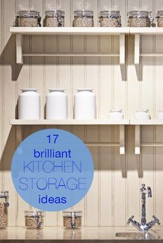 17 fantastic kitchen storage ideas to keep your kitchen nice and neat!