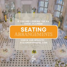 #SeatingArrangements Cover Corporate Event Planner, Event Planning, Wedding Ceremony, Cover, Hochzeit
