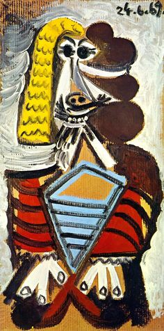Pablo Picasso - 1969 Homme assis 1