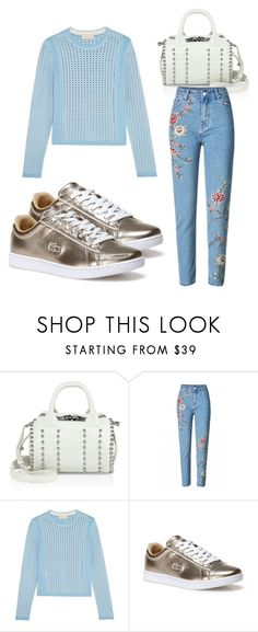 """Untitled #4188"" by evalentina92 ❤ liked on Polyvore featuring Alexander Wang, Tory Burch and Lacoste"