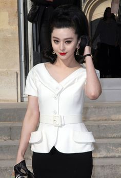 Fan Bingbing - Celebrities At The Dior Fashion Show In Paris 2