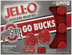 JELL-O Dessert Mold Kit, the Ohio State University, Strawberry,  12 Ounce. Jell-O http://www.amazon.com/dp/B00KD5DVSA/ref=cm_sw_r_pi_dp_ogpOub1FT78ND