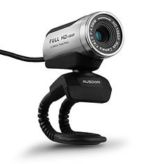 AUSDOM 1080P HD USB Webcam with Builtin Microphone120MP Auto Exposure Digital Zoom ClipOnFreestanding Network Computer Camera Web Cam for LaptopDesktopSkype FaceTimeYoutubeYahoo Messenger >>> Continue to the product at the image link.Note:It is affiliate link to Amazon.